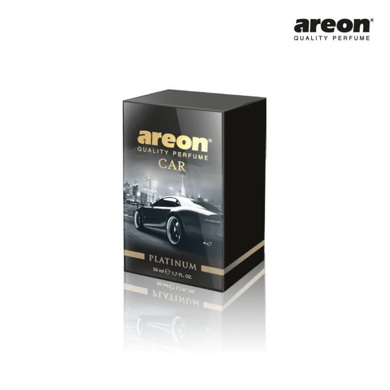 AREON CAR PERFUME 50ML PLATINUM PLATINA