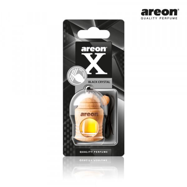 AREON FRESCO X VERSION BLACK CRYSTAL CRISTAL PRETO