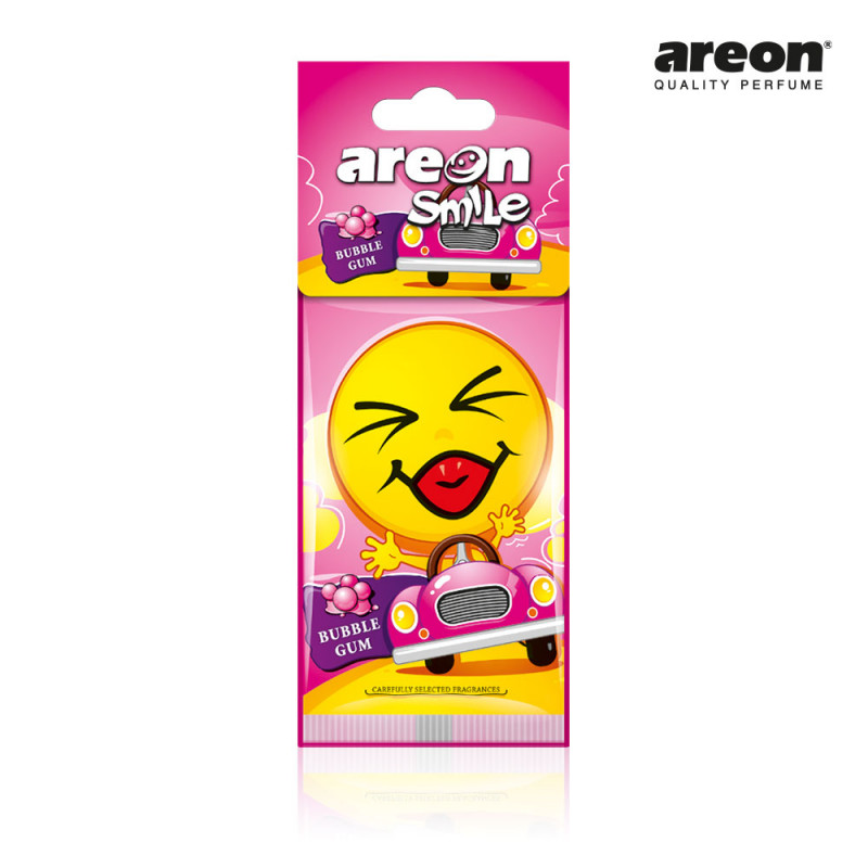 AREON SMILE SECO BUBBLE GUM GOMA DE MASCAR